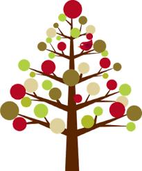 modern christmas modern christmas tree clipar clip library