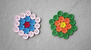 how to button coasters make