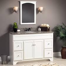 foremost wrwa4821d worthington 48 inch white bathroom vanity