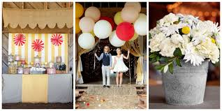 carnival themed wedding reception creative wedding reception ideas