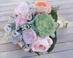 silk wedding bouquet silk wedding bouquet bouquet and pink cabbage