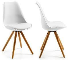 chaises cuisine blanches chaises cuisine couleur affordable table griselles diam cm