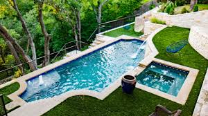 extreme hillside pool spa and outdoor living in ft worth youtube