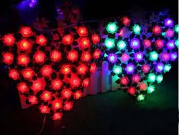 Christmas Window Decorations Lights by Aliexpress Com Buy 70p Rose Led Fairy Lights Christmas Window