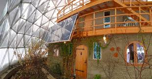 geodesic dome home interior inside a family s geodesic dome home in the arctic circle curbed