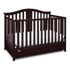 Convertible Cribs With Drawers Graco Solano 4 In 1 Convertible Crib With Drawer Espresso