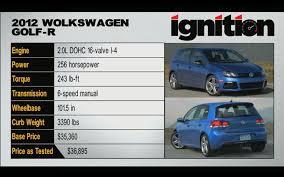 ignition episode 6 2012 vw golf r tested u2013 motor trend youtube