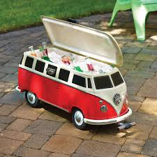 volkswagen van hippie for sale the volkswagen panel van cooler hammacher schlemmer