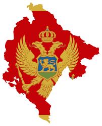 Europe Flag Map by Large Flag Map Of Montenegro Montenegro Europe Mapsland