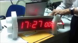 ivation clock setup digital clock youtube