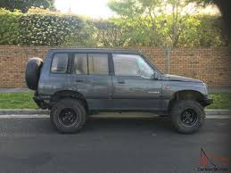 vitara automatic 4x4 4wd lifted new tyres rear air diff lock winch