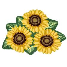 Brumlow Mills by Amazon Com Ustide Sunflower Rug Nonslip Floral Bath Mat Washable