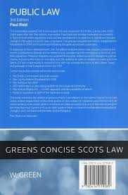 What Is An In Law House Public Law Greens Student Text Amazon Co Uk Paul Reid