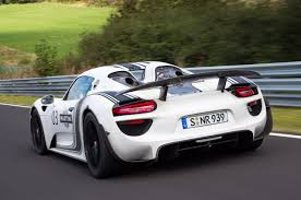porsche modified first modified porsche 918 spyder