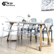 Perspex Dining Chairs Clear Dining Room Chairs Medium Size Of Clear Dining Chair Clear