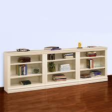 Wall Bookcase A U0026 E Hampton 3 Piece Wall System Wood Bookcase Hayneedle