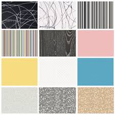 candy funky vinyl flooring striped pattern kitchens bathrooms