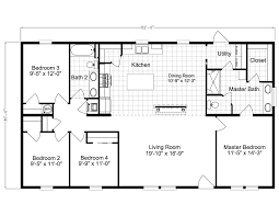Mobile Home Floor Plans by St Martin Ls30524a Manufactured Home Floor Plan Or Modular Floor Plans