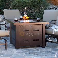 Granite Patio Tables Patio Propane Fire Pit Table Gas Fire Pit Tables Granite Patio