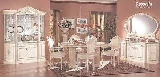 Italian Dining Room Furniture Impressive Italian Dining Table And Chairs Rossella Italian Dining