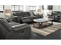 Microfiber Reclining Sofa Sets Furnitures Grey Reclining Sofa New 3