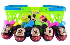 Mickey Mouse Easter Eggs Pack Of 18 Walt Disney Mickey Minnie Mouse