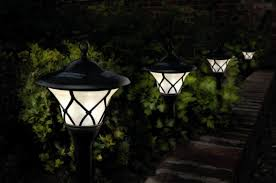 Landscaping Lighting Ideas by Creative 10 Ideas For Residential Lighting Solar Powered Outdoor