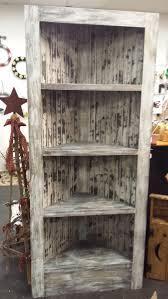 Wood Corner Bookcase Beautiful Rustic Corner Bookcase Featuring By Beadazzledandbeyond