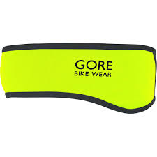 yellow headband wiggle bike wear universal windstopper softshell headband