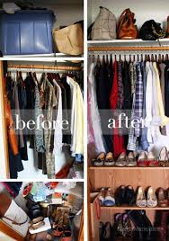 closet cleaning closet cleaning before and after cleaning pinterest