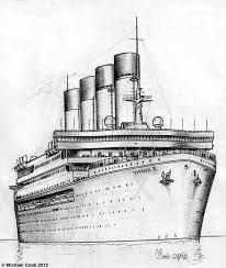 titanic clipart shipping pencil and in color titanic clipart