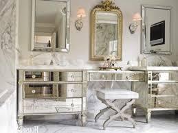 vintage bathroom wall decor stylish modern clear glass shower room