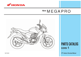 part catalog new megapro by ahass tunasjaya issuu