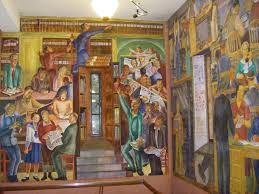 Coit Tower Murals Diego Rivera by Sunny Side Up November 2011