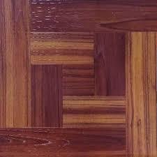 12 in x 12 in red oak parquet peel and stick vinyl tile flooring