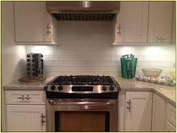 black subway tile kitchen backsplash home design ideas