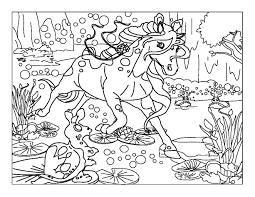 chevaux 1 coloriages de chevaux et poneys coloriages enfants