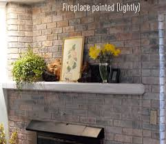 simple can i paint my brick fireplace small home decoration ideas