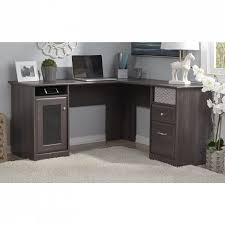 Kitchen Office Furniture Cabot L Shaped Desk Kitchen Dining Bush Furniture Office Depot