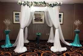 wedding arches square image gallery indoor wedding arches