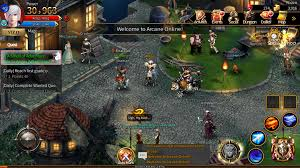 best mmorpg for android mmorpg arcane is unleashed on android and ios