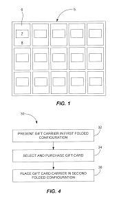gift card carriers patent us8800758 gift card carriers patents