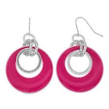 pink earrings pink drop earrings shop for pink drop earrings on polyvore