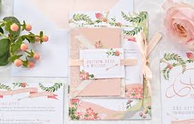 wedding invitations lewis the prettiest floral wedding stationery for your big day