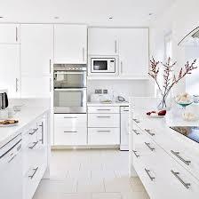 white gloss kitchen floor cupboard take a look around this all white open plan kitchen ideal