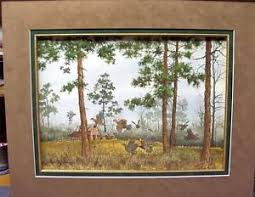 david hagerbaumer original water color painting matted bobwhite