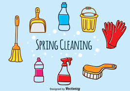 hand drawn spring cleaning vector download free vector art