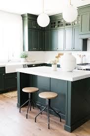 Modern Kitchen With White Appliances Kitchen Kitchen Window Sage Green Kitchen Cabinets With White