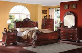 Hardwood Bedroom Furniture Sets by Wood Bedroom Furniture Sets Abramson Traditional Cherry Wood