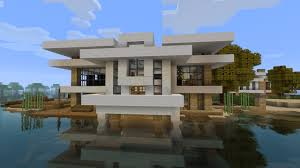 simple modern house tutorial 1 beach town project minecraft